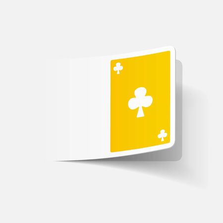 playing card: realistic design element: playing card