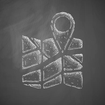 navigator icon Vector