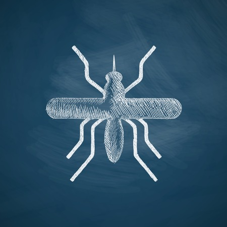 mosquito icon Illustration