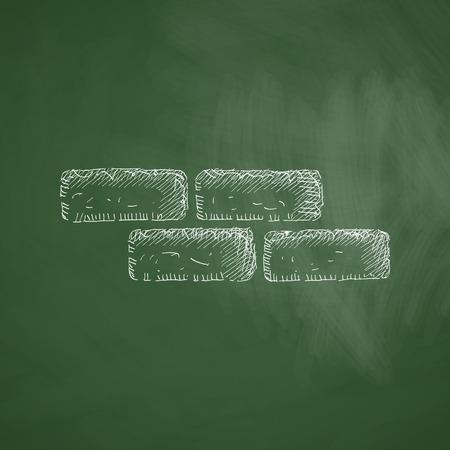 cement solution: brick icon