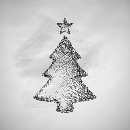 noël icône arbre