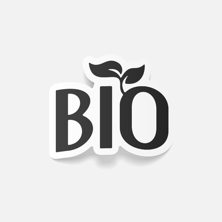 ecologist: realistic design element: bio sign
