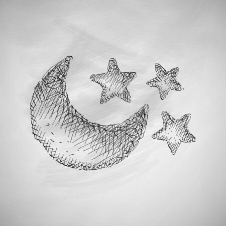 luna: full moon icon