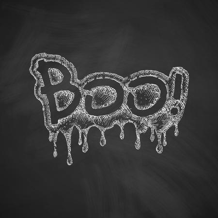 boo icon Illustration