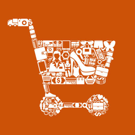 retail: trolley icon