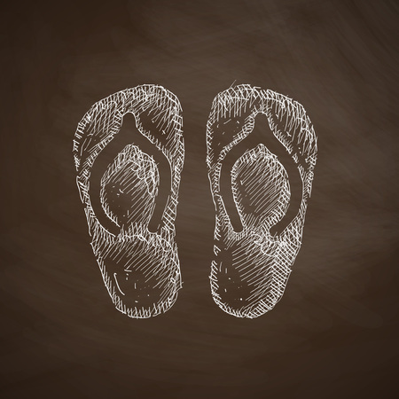 slippers icon Vector