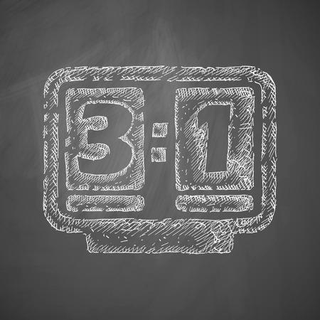 score board: score board icon
