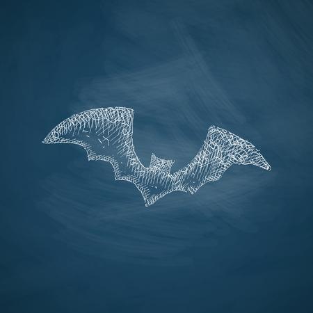 bat icon Illustration
