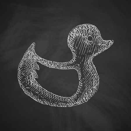 with duck: icono de pato Vectores