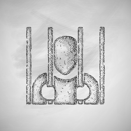 barred: prisoner icon