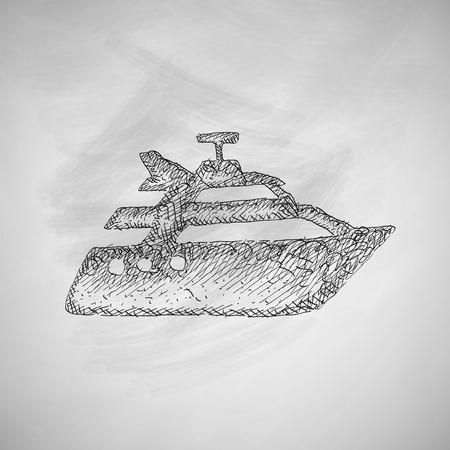 titanic: yacht icon