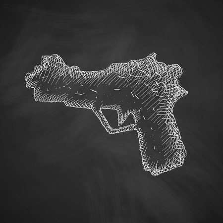 gun icon Illustration