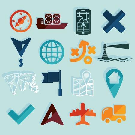 hint: Set of navigation icons