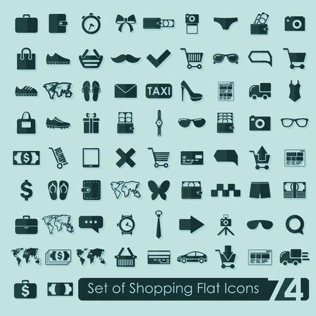 Set di icone dello shopping  Archivio Fotografico - 36419367