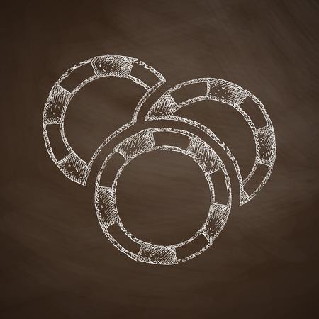 fichas casino: fichas de casino icono