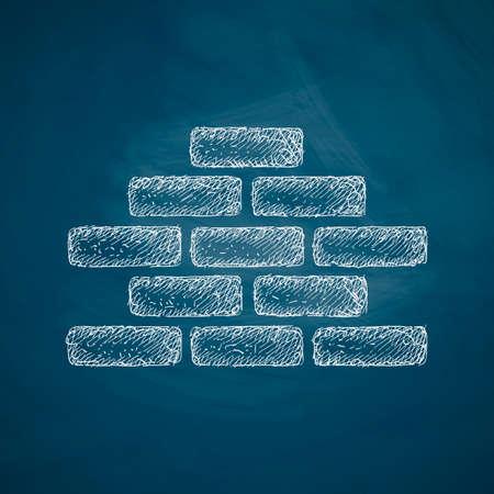 paredes de ladrillos: icono ladrillo