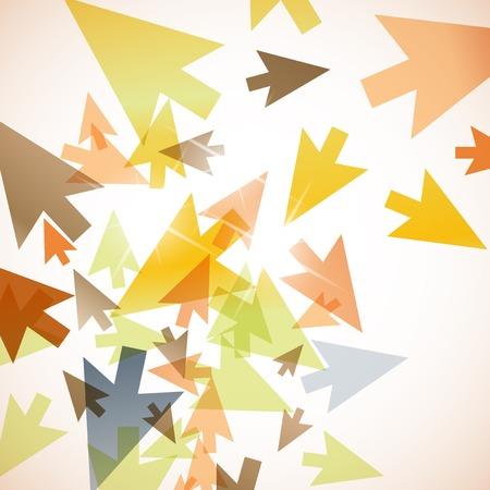 flash point: abstract background: arrow Illustration
