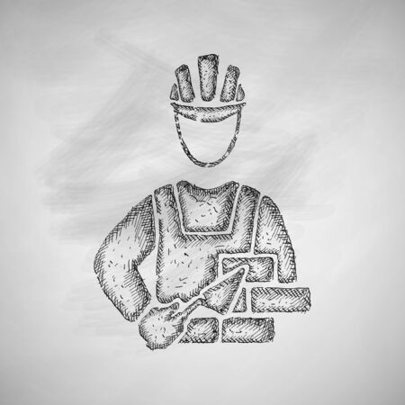 speciality: builder icon Illustration