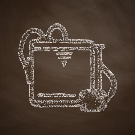 three d: tre d icona della stampante