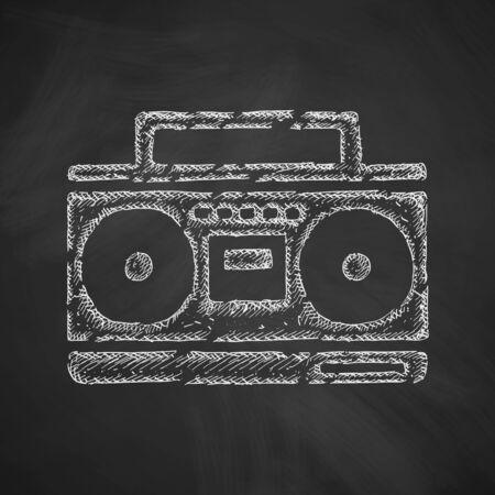 cassette recorder icon