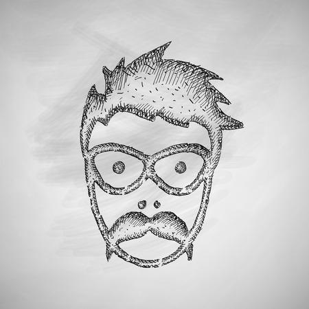 egghead: face male icon