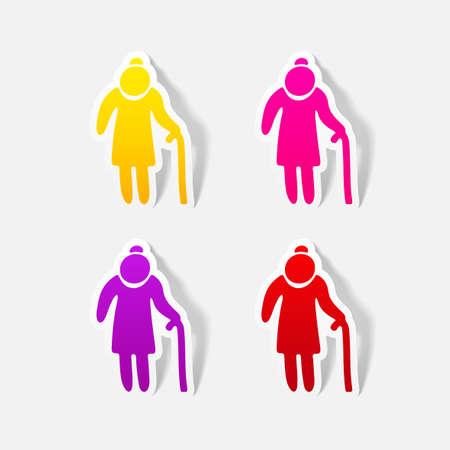 conjugal: realistic design element: grandma