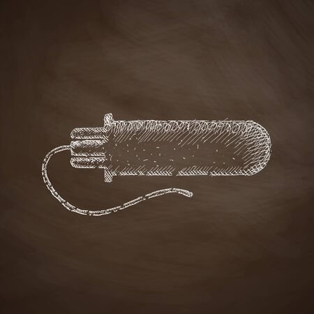 tampon: gynecological tampon icon