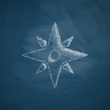 azimuth: compass icon