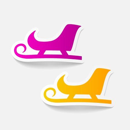 skids: realistic design element: sledge