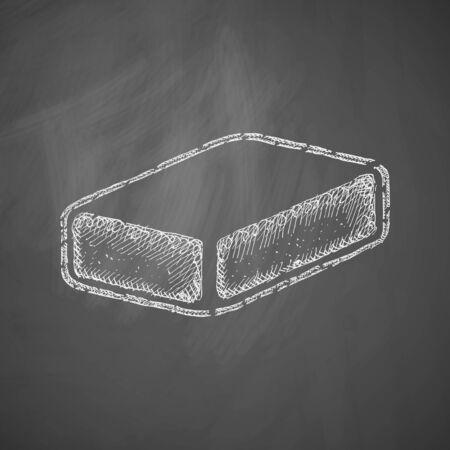 soap suds: soap icon Illustration