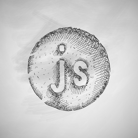 js: js icon Illustration