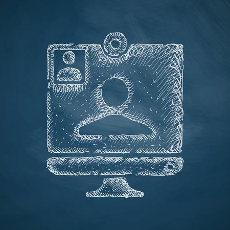 video call icon Ilustração