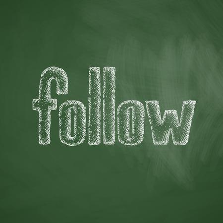 volgen icoon
