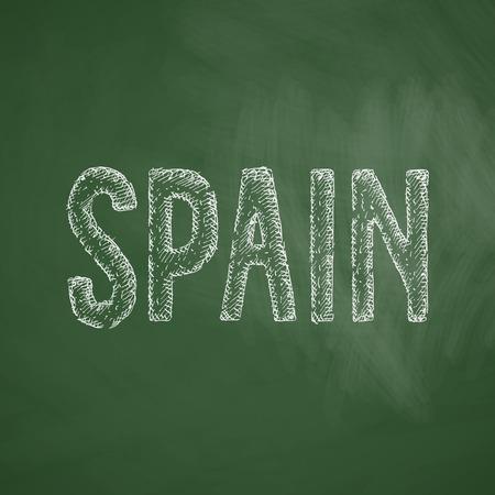 panoramic beach: Spain icon