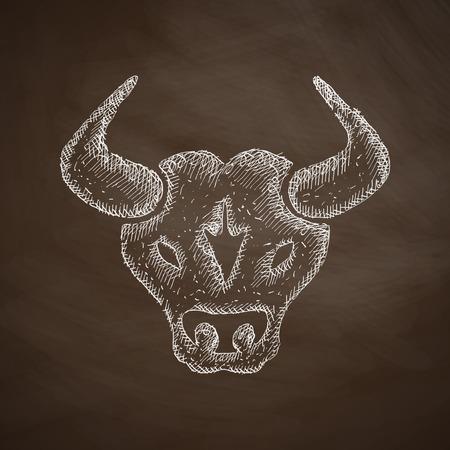bull pen: bull icon