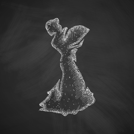 bailarina de flamenco: icono de bailarina de flamenco Vectores