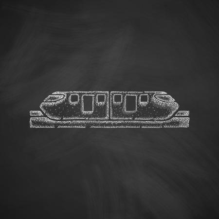 monorail train icon