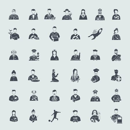 speciality: Set of professions icons