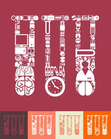 ampoule: medicine icon Illustration