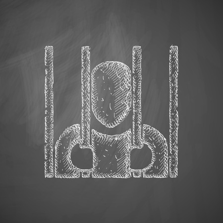 iron barred: prisoner icon