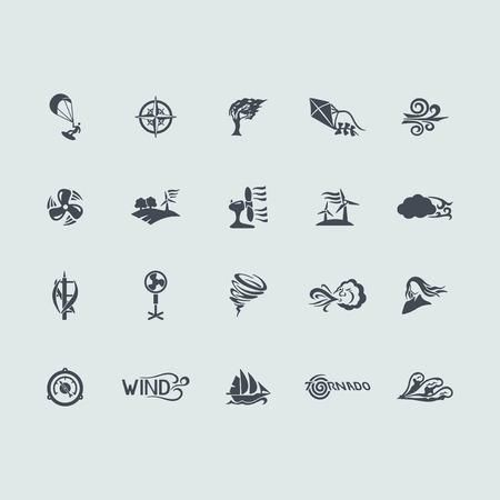 wind of rose: Conjunto de iconos de viento