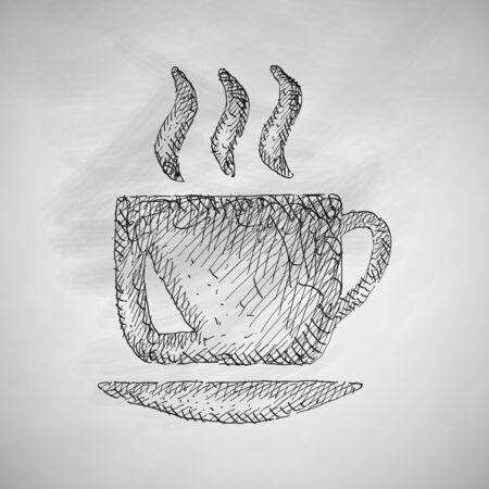 cheerfulness: coffee icon