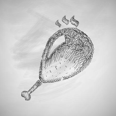 gammon: gammon icon Illustration