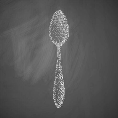 spoon icon Illustration