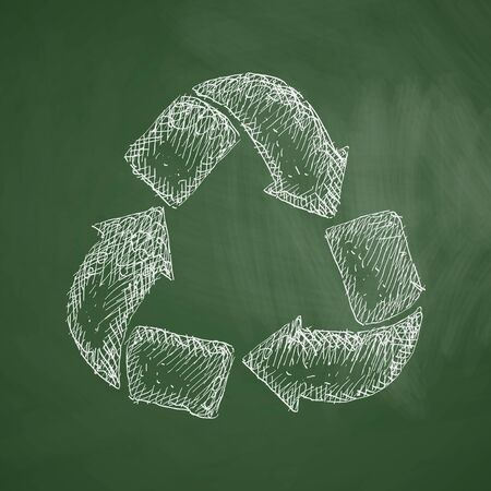 recycle sign: recycle sign icon