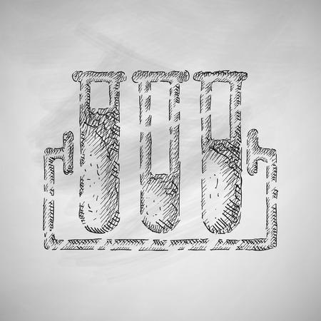 tubes icon Illustration