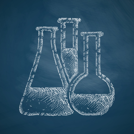 sterilization: tubes icon Illustration