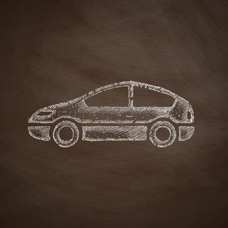 taxista: coche icono