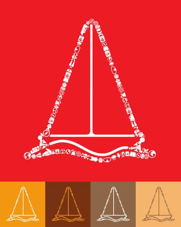 keel: sailboat icon