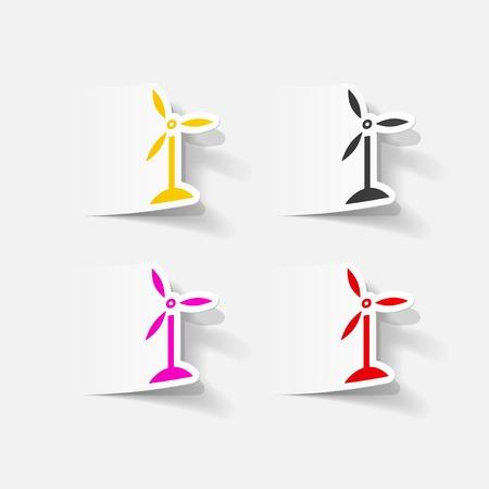 turbines: realistic design element: wind turbines